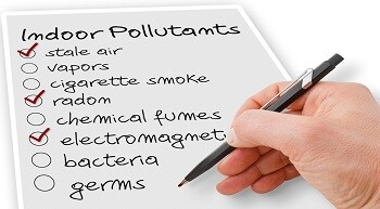 A checklist of indoor pollutants, adequate ventilation is an important factor that ensures potential pollutants or moisture generated within a property can exit the property